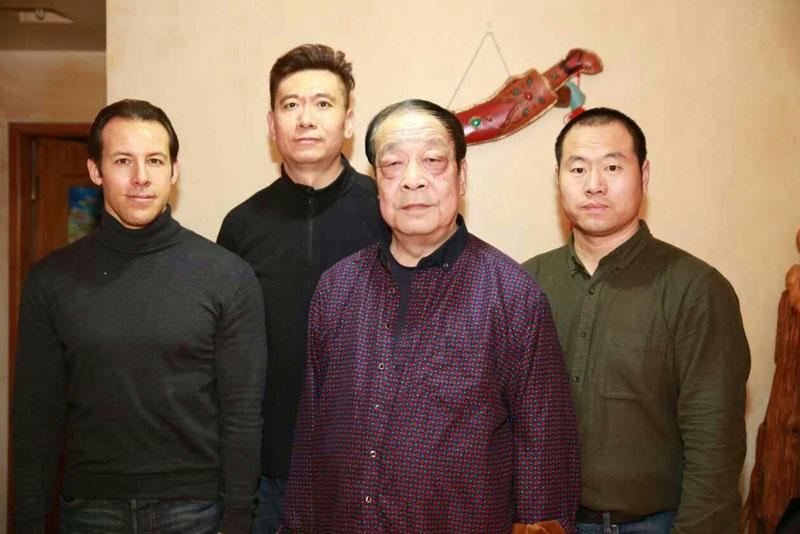 Shifu Wei Yuzhu, Laurent Morlet et disciples Chine