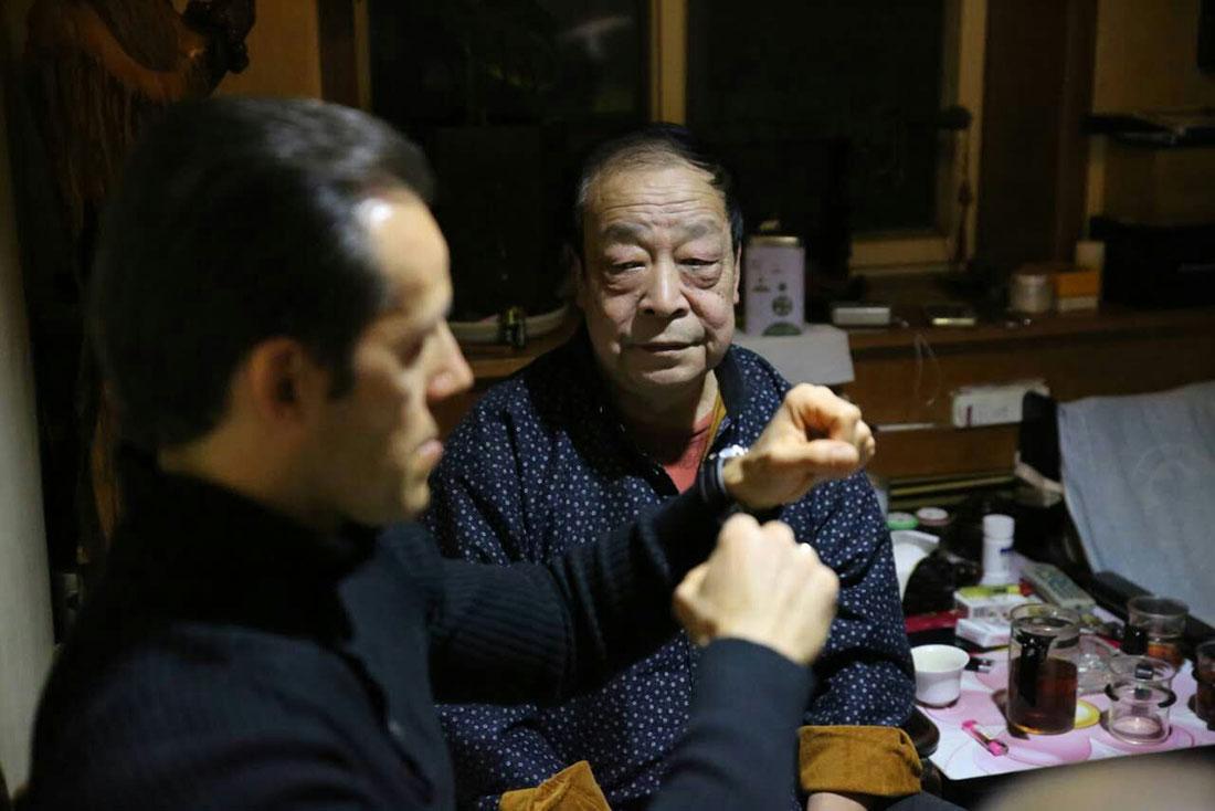 Shifu Laurent Morlet posture combat maître Wei Yuzhu